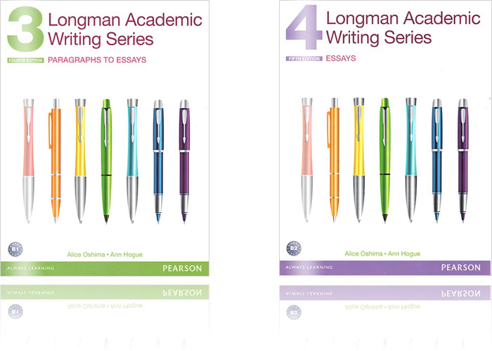 寫作課本推薦:Longman Academic Writing Series​