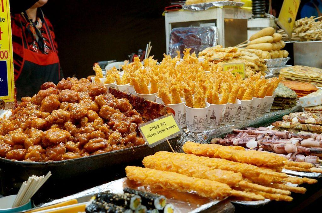 1. 韓國自由行會話-在餐廳的情境