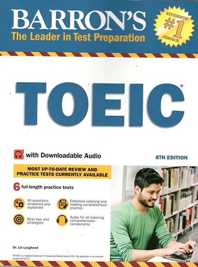 多益課本:Barron's TOEIC: Test of English for International Communication​