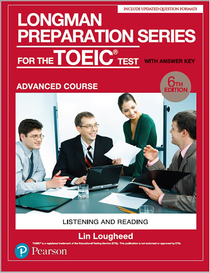 多益書籍:Longman Preparation Series for the TOEIC Test​